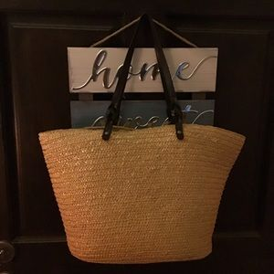 Neiman Marcus straw bag